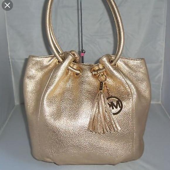 Michael Kors Handbags - Michael Kors Large Ring-Handle Tote Bag